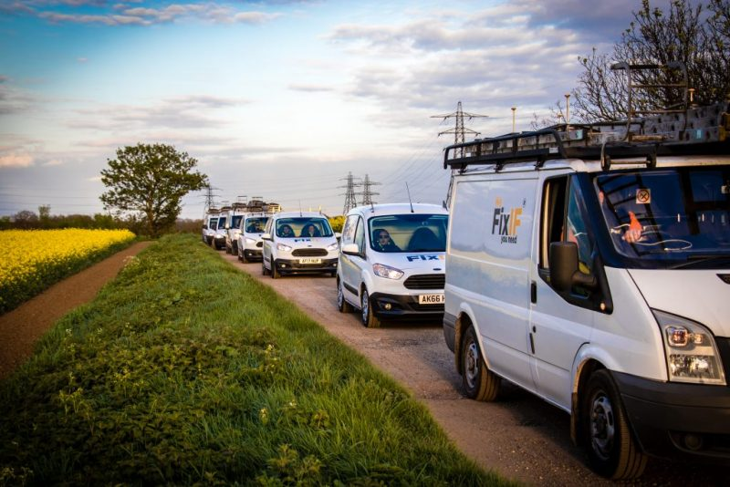 FixIF Emergency Plumber fleet Upend